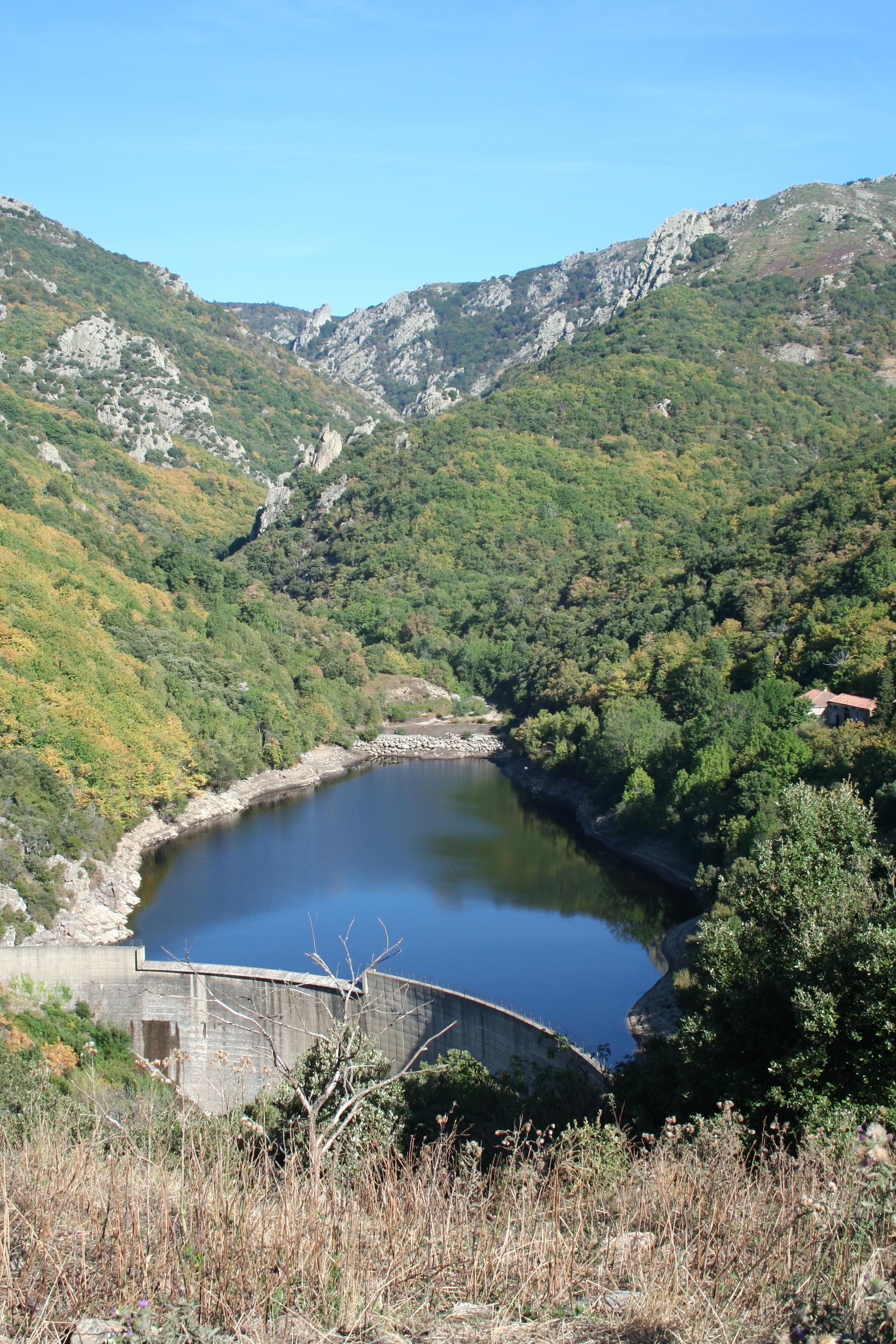 Feu le barrage de l ayrette - Barrage de l odeur ...