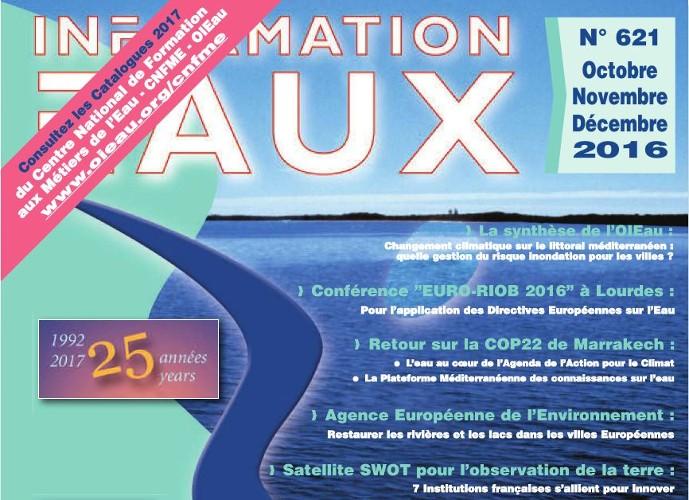 Parution de information eaux n 621 la revue de l 39 office international de l eau - Office internationale de l eau ...