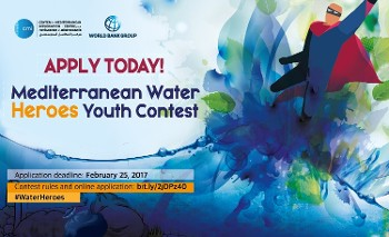 Mediterranean Water Heroes Youth Contest : Inscrivez-vous !